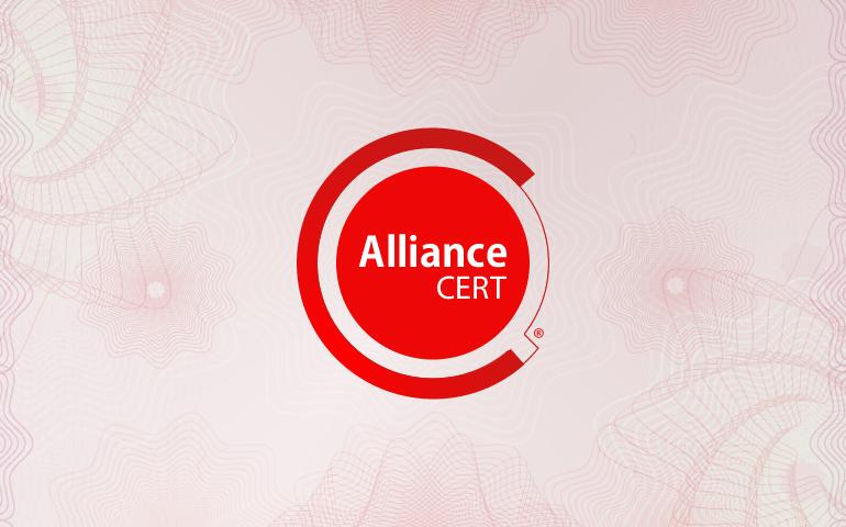 Logo Design - Alliance Cert