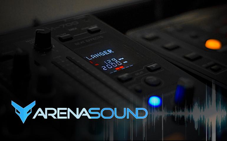 Logo Design - Arena Sound