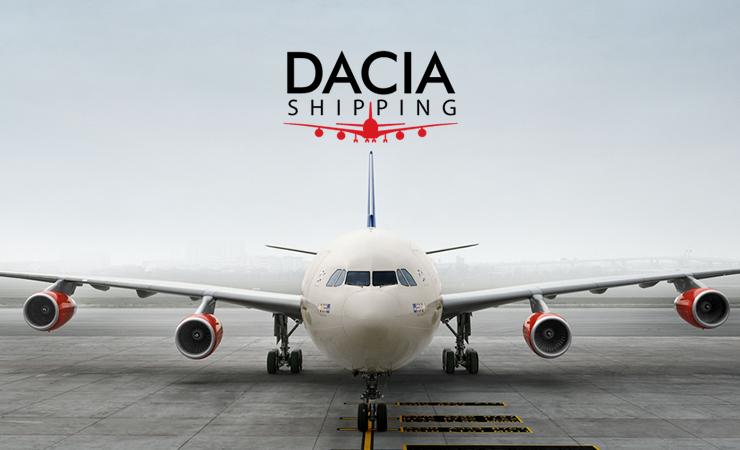 Logo Design - Dacia Shipping