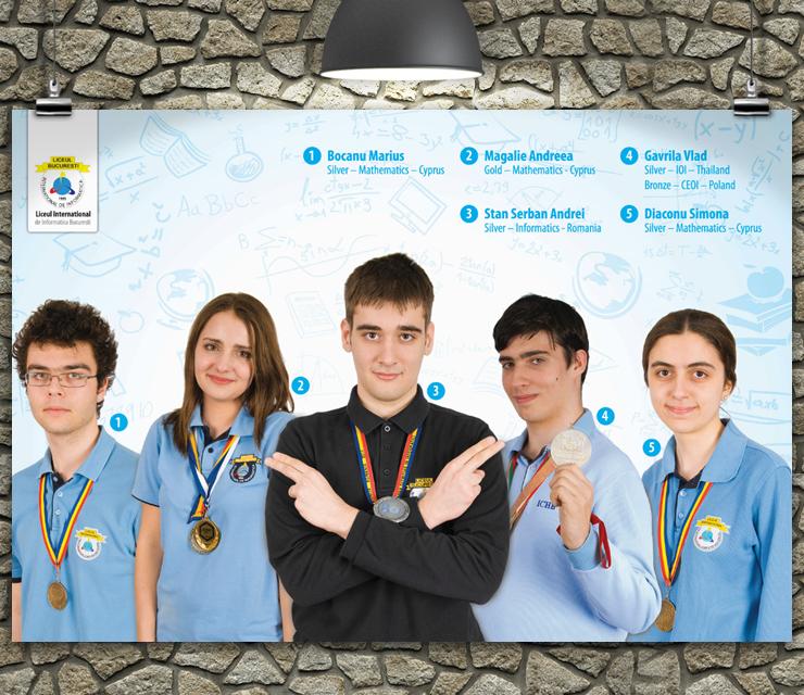 Poster Creativ 7 - ICHB (Liceul de Informatica)