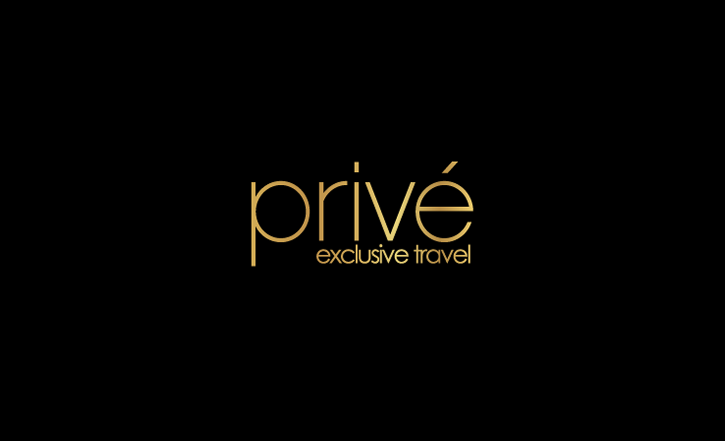 Prive Travel - Logo II