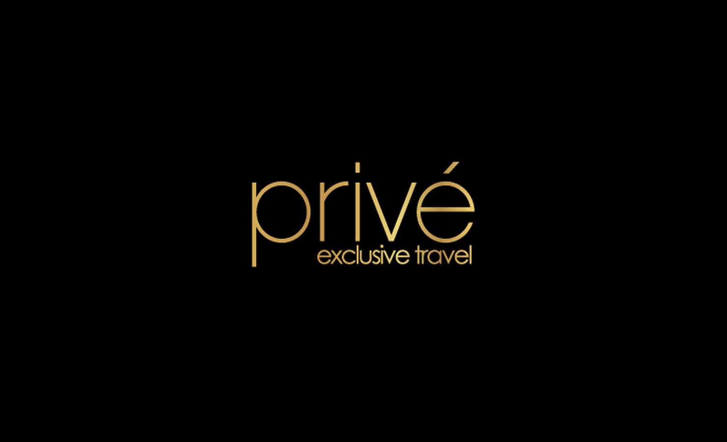 Prive Travel - Logo II