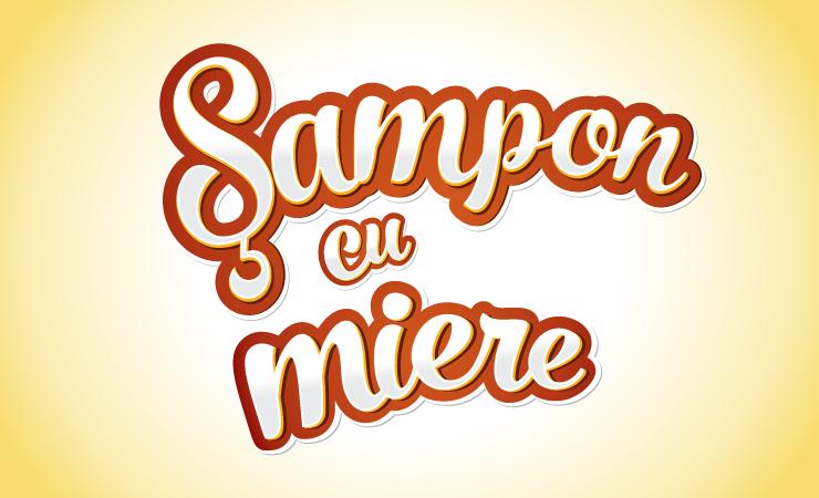 Sampon cu Miere Corona - Design Eticheta 1-1