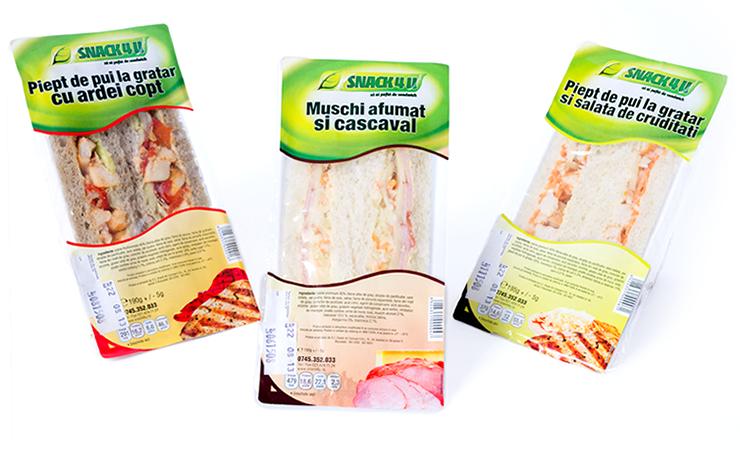 Snack4u - Design Etichete - Triunghi 2