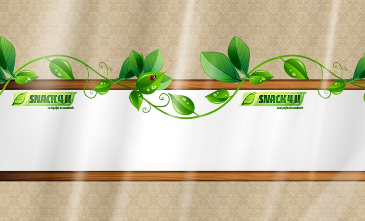 Snack4u - Design Folie Etichete 1
