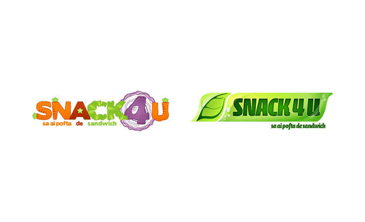 Snack4u - Design Logo 1