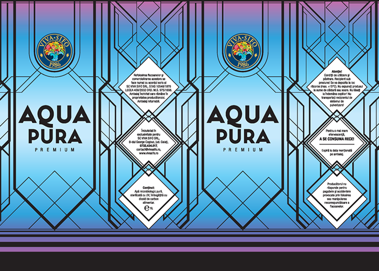 Viva Sifo - Eticheta Aqua Pura